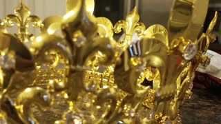 King and Queen wedding crowns