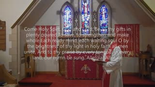 Worship for Pentecost 2021 at St James