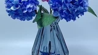 DIY How to Make Paper Flower Hydrangea