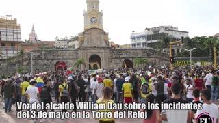 Audio del alcalde de Cartagena sobre incidentes del 3 de mayo