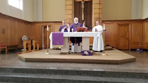 Sunday Mass (Lent I) -- February 21, 2021