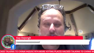 Jovan Pulitzer Electronic Voting Machines in Georgia Communicating with Vendor in China