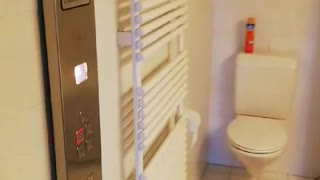 Private Elevator with Plumbing