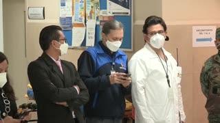 Ecuador inicia proceso de vacunación contra la covid-19