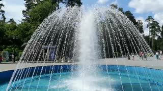 A beautiful fountain in the city.