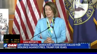 Democrats called for violence against President Trump for years