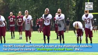 NFL's Redskins change name to 'Washington Football Team