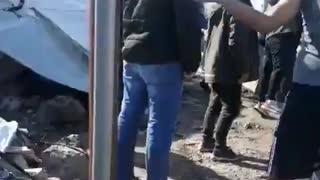 Griechenland: Moria brennt wieder