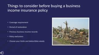 Business Interruption Insurance