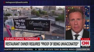 Chris Cuomo Speaks On CNN Prime Time