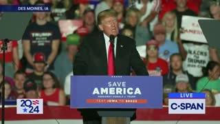 President Donald Trump Speaks in Des Moines Iowa, October 2021 - FULL