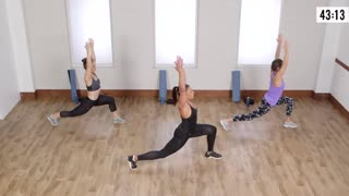 Workout With Jeanette Jenkins — About 500 in 45 Minutes