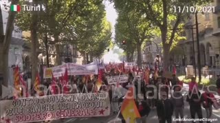 L'Italie est entrée en grève générale