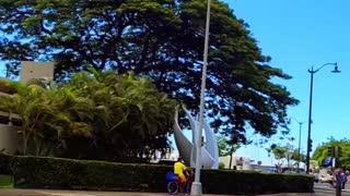 Trump Rally/Caravan Ala Moana Oahu, Hawaii