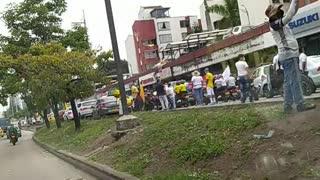 Video: Avanzan marchas y caravanas de este miércoles en Bucaramanga