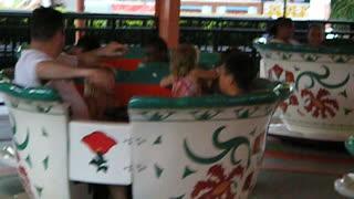 Tea cups at Busch Gardens Williamsburg