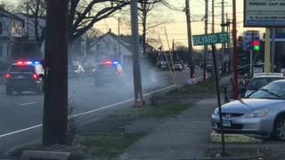 Cops Chase Dump Truck During Rush Hour