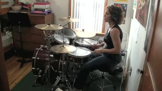 I'm Eighteen by Alice Cooper ~ Drum Cover