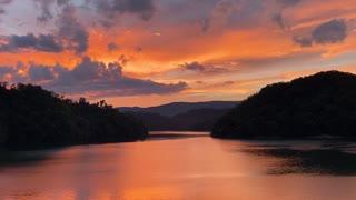 Big Orange Sunset