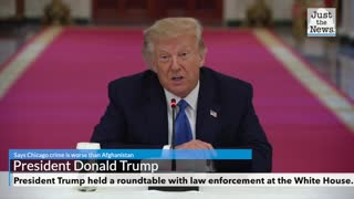 President says Chicago crime is worse than Afghanistan