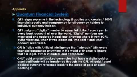 ~ QFS. Quantum Financial System ~