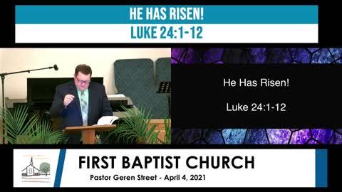 Easter Sunrise Service - April 4, 2021