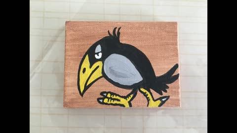 Minah Bird Painting