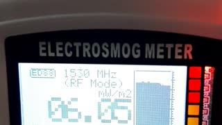 Interior apartament, radiatie radiofrecventa