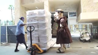 Padres pack up for spring training on Truck Day