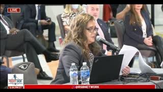 Marissa Hamilton's Testimony During Arizona Legislature Hearing on Election Fraud