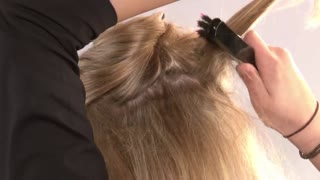 How To Use The Deluxe Clip-In Hair Extensions