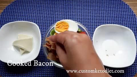 Keto Cobb Egg Salad 2