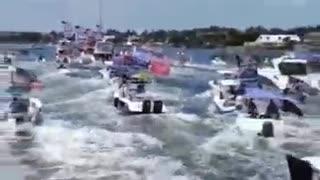 Biden Boat Parade versus President Trump's Boat Parade