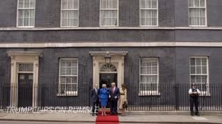 FLOTUS Melania Trump U.K. Fashion