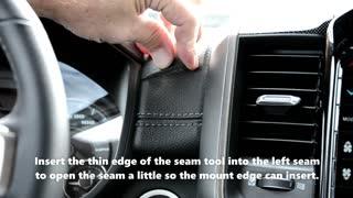 RAM Truck: Phone Mount / A-Tach 50015 Installation Video