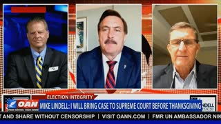 Mike Lindell: Before Thanksgiving, I'll take my case to the Supreme Court.