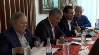 Consejo de seguridad del presidente Duque en Bucaramanga