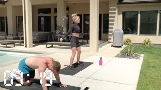 BODY WEIGHT WORKOUT WITH A PARTNER