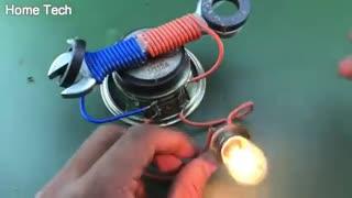 Free Energy Using Speaker Magnet Technology For 2021