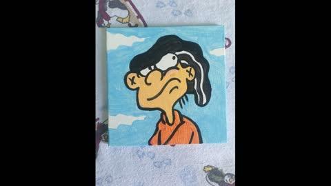 Edd painting