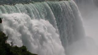Niagara Falls displays immense power