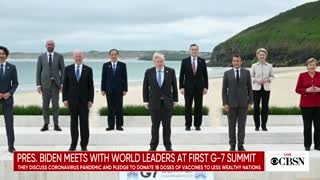 President Biden meets with world leaders at first G7.mp4