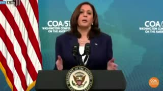 Kamala Says that Climate Change Made Her Do It! Blames Climate for Border Crisis