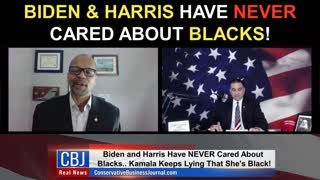 Biden & Harris Have NEVER Cared About Blacks!