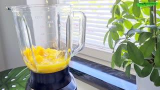 Avocado Mango Smoothie   Healthy Vegan Breakfast Smoothie Recipe