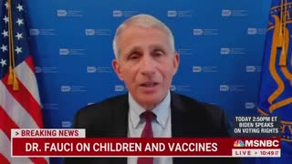 WOW! Dr. Fauci Bizarrely Claims 3-Year-Old Toddlers SHOULD Wear Masks