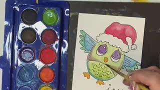 Whimsical Wilson the Owl Card Tutorial