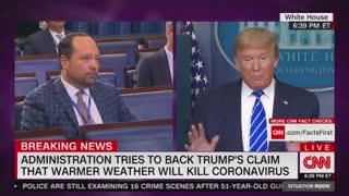 President Trump Blasts WaPo Reporter