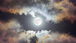 The most beautiful look at the moon