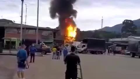 Explosiones en Chimitá, Bucaramanga